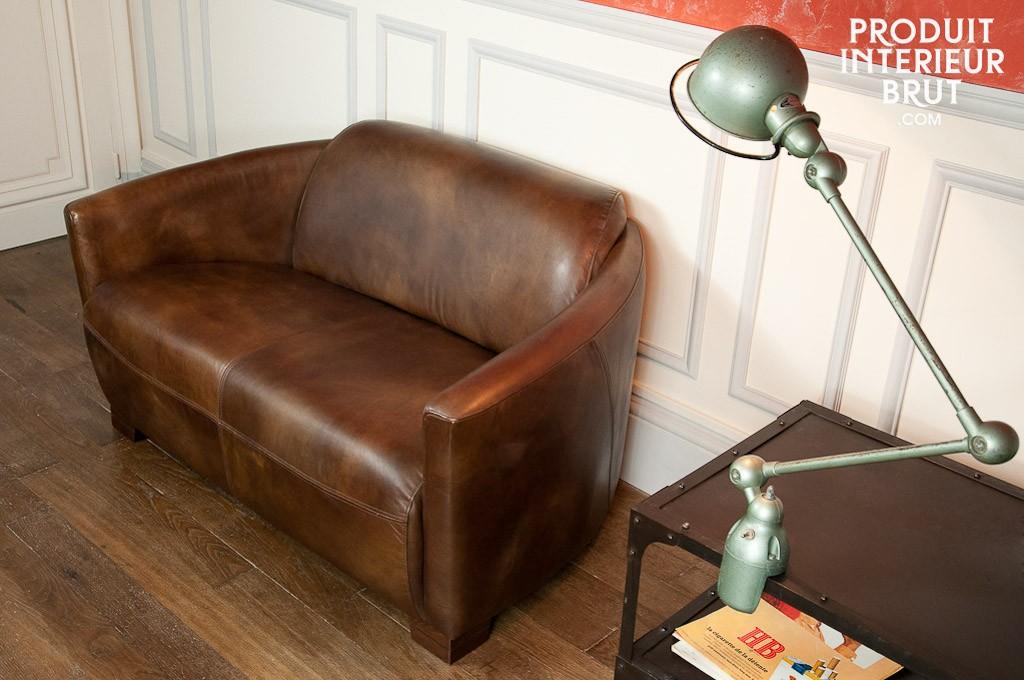 Ein Clubsessel im Couchformat, ein Must-have der Retro-Deko