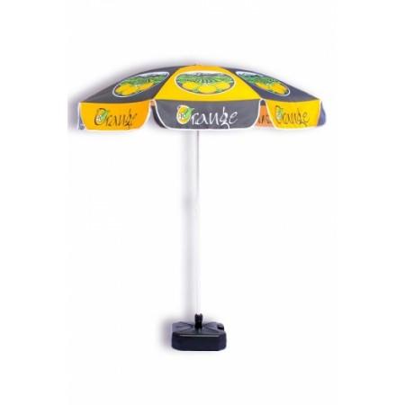 Impression drapeaux est le partenaire idéal si vous voulez utiliser du parasol personnalisé